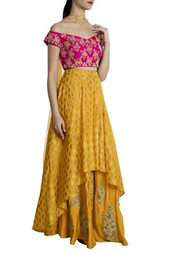 High-low Lehenga