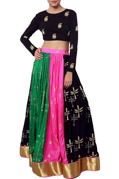 Multicoloured Lehenga
